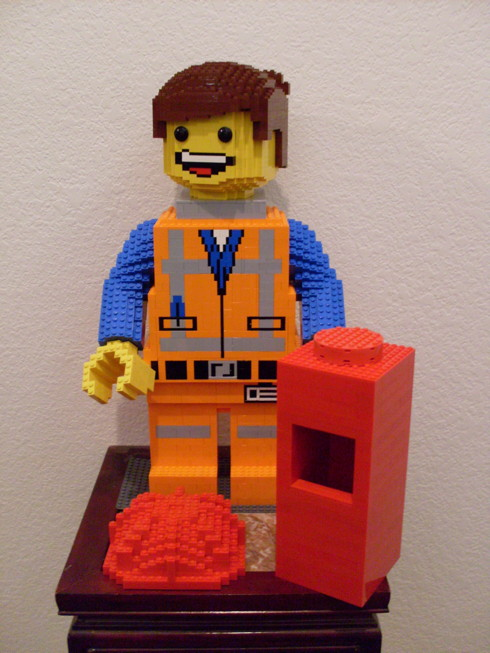 Maxifig Emmet from THE LEGO MOVIE