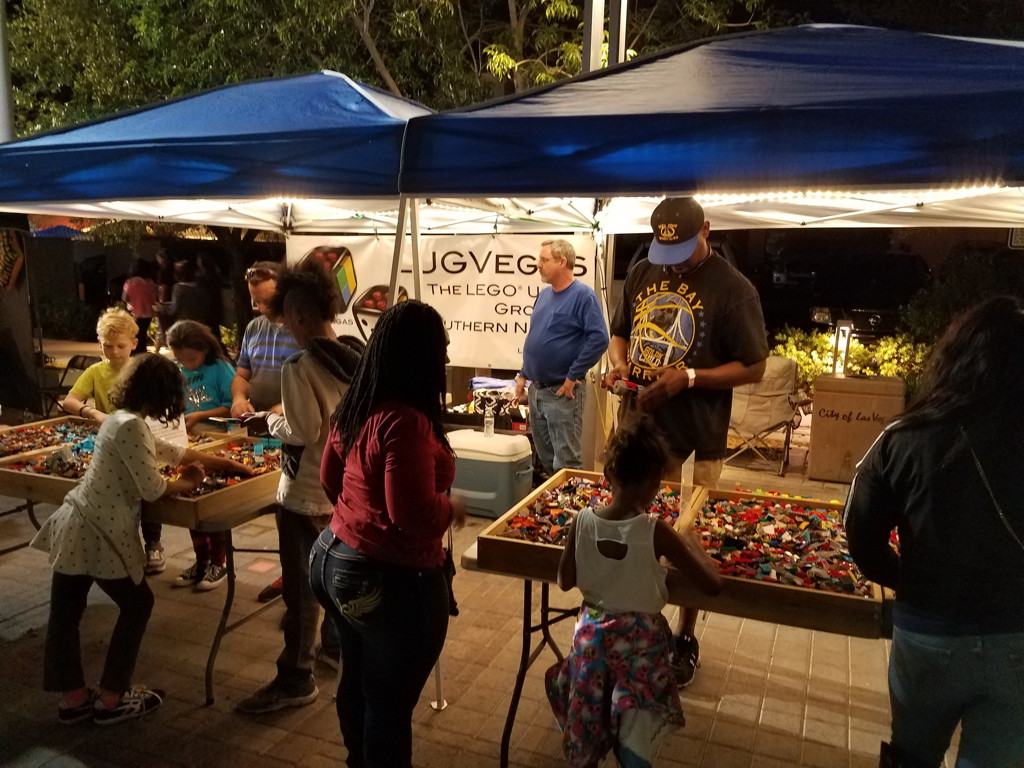 LUGVegas booth First Friday April 14, 2017