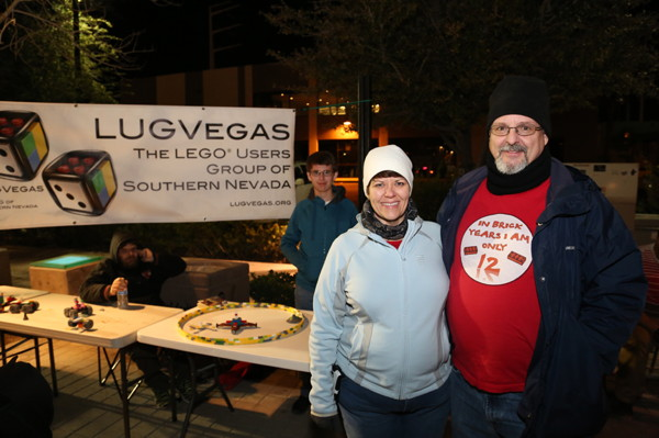 LUGVegas booth First Friday February 5, 2016