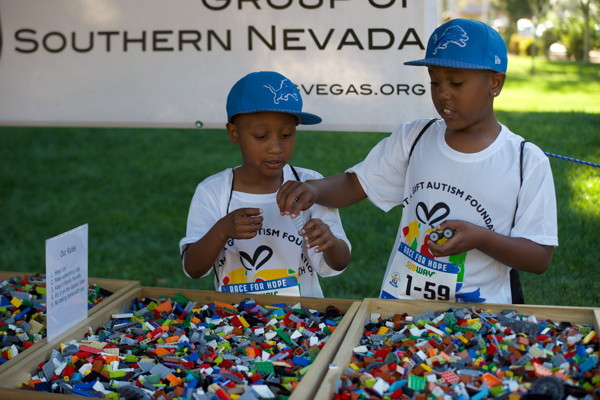 LUGVegas booth Grant a Gift Autism Foundation 5K Race for Hope April 27, 2019