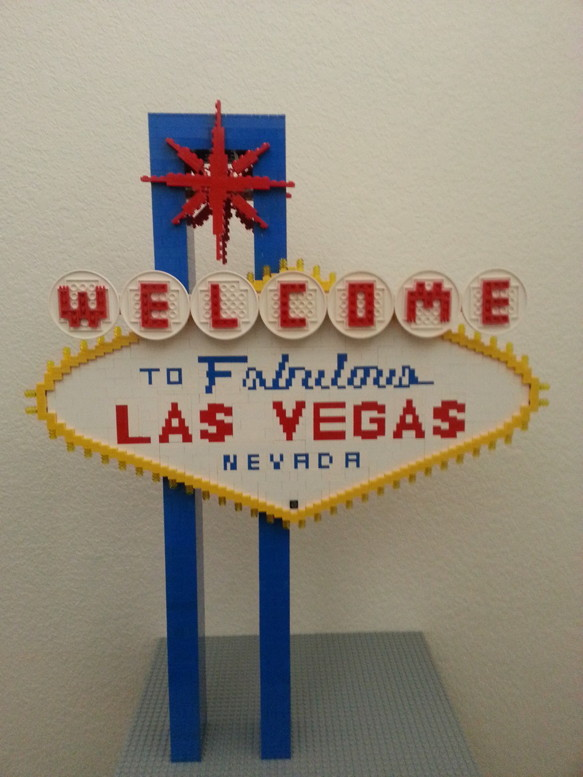Welcome to Las Vegas sign front